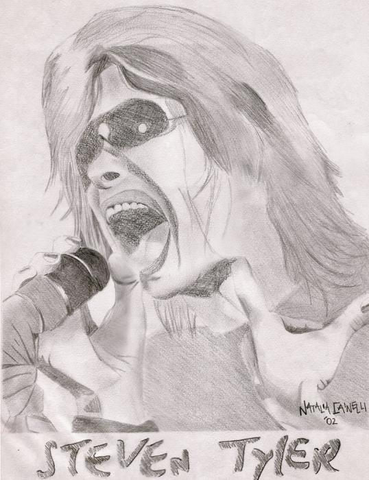 Steven Tyler by Nati